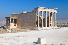 Temple in Acropolis Stock Photography