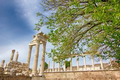 Temple of Acropolis, Ancient Greek royalty free stock images
