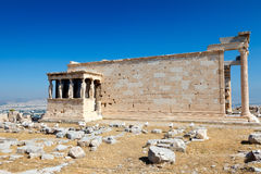 Temple in Acropolis, Athens Royalty Free Stock Photos