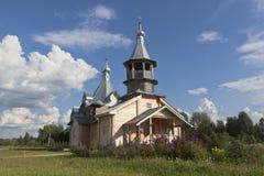 Temple Agapita Markushevsky in the village of Nyuksenitsa, Vologda Region Stock Photo