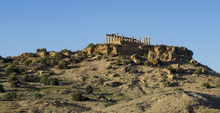 Temple in agrigento Royalty Free Stock Images