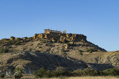 Temple in agrigento Royalty Free Stock Photography