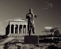 Temple at Agrigento, Sicily Royalty Free Stock Photography