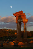 Temple at Agrigento, Sicily royalty free stock photos