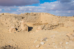 Temple of Ain-al-Muftella, Egypt Royalty Free Stock Photo
