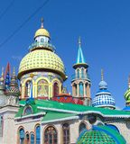 Temple of all religions, ecumenical temple Stock Image
