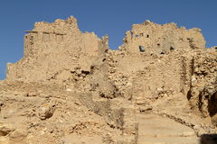 The Temple of Ammon in the oasis town of Siwa Royalty Free Stock Photos