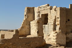 The Temple of Ammon in the oasis town of Siwa Stock Image