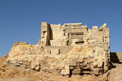 The Temple of Ammon in the oasis town of Siwa Royalty Free Stock Photo