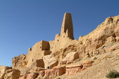 The Temple of Ammon in the oasis town of Siwa Royalty Free Stock Images