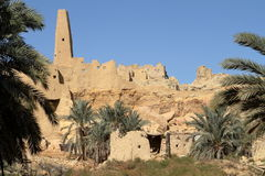 The Temple of Ammon in the oasis town of Siwa Royalty Free Stock Photography