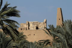 The Temple of Ammon in the oasis town of Siwa Stock Images