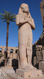 Temple of Amon. Karnak. Egypt Stock Photos