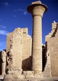Temple of Amon- Ra. Temple  of Amon- Ra in Karnak, Egypt Stock Photo
