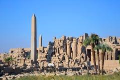 Temple of Amun Stock Photo