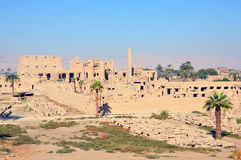 Temple of Amun. At Karnak temple complex in Luxor,Egypt Royalty Free Stock Images
