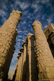 Temple of Amun, Karnak Temple, Egypt. Columns at Temple of Amun, Karnak Temple, Egypt Royalty Free Stock Photo