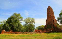 Thailand. The temple of ancient city in Thailand Royalty Free Stock Image