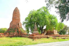 Temple. The temple of ancient city in Thailand Royalty Free Stock Images