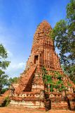 Thailand temple. The temple of ancient city in Thailand Royalty Free Stock Photo