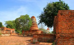 Temple. The temple of ancient city in Thailand Stock Image