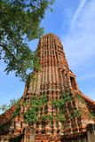 Temple. The temple of ancient city in Thailand Royalty Free Stock Photography