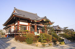 Temple. Ancient temple located in toyohashi Royalty Free Stock Images