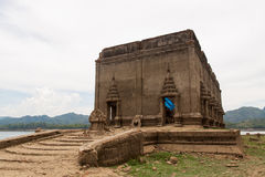 Temple. Ancient temples wait for repaired Stock Image