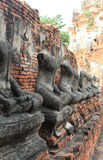 Temple ancient in Wat Chai Watthanaram. Thailand Royalty Free Stock Photography