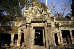 Temple in Angkor Stock Image