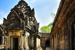 Temple in Angkor. At daytime Stock Photography