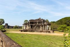 Temple in Angkor Thom Cambodia Royalty Free Stock Photo