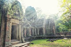 Temple in Angkor Thom, Cambodia Stock Photo