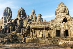 Temple in Angkor Thom, Cambodia Stock Images