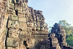 Temple in Angkor Thom, Cambodia Royalty Free Stock Photo