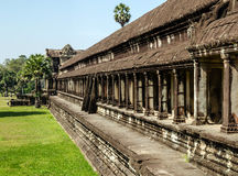 The temple of Angkor Wat, Siem Reap.Cambodia Royalty Free Stock Image
