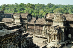 The temple of Angkor Wat, Siem Reap.Cambodia Stock Photography