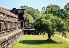 The temple of Angkor Wat, Siem Reap.Cambodia Stock Photo
