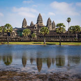 The Temple of Angkor Wat, Siem Reap, Cambodia Royalty Free Stock Photos