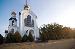 Temple 2000 anniversary of the Nativity, Kharkiv, Ukraine Stock Photography