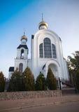 Temple 2000 anniversary of the Nativity, Kharkiv, Ukraine Stock Image