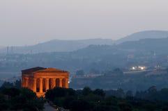 temple antique Photographie stock libre de droits