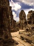Temple antique au Cambodge Photographie stock