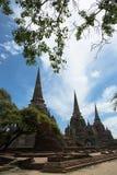 Temple antique dans Ayutthaya Photos stock