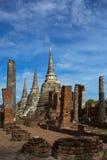 Temple antique dans Ayutthaya Photographie stock libre de droits