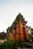 temple antique de bali d'architecture Photographie stock libre de droits