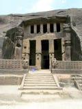 Temple antique de caverne photographie stock