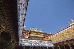 Temple antique de jokhang Images libres de droits