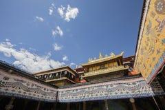 Temple antique de jokhang Photos libres de droits
