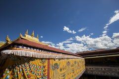 Temple antique de jokhang Photo stock